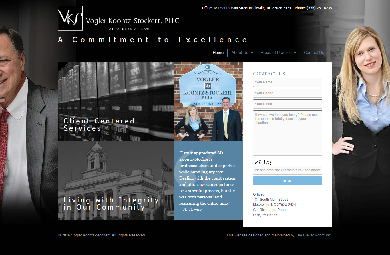 Vogler Koontz-Stockert, PLLC Website